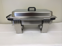 Chafing Dish Stainless Single 9qt. rec.