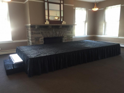 Staging 4'x4' section