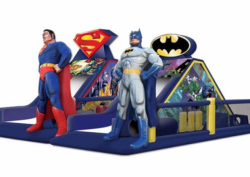 Batman vs Superman Obstacle Course