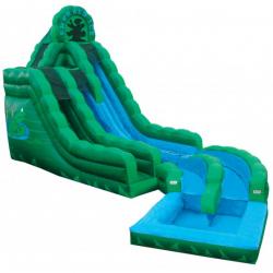 20ft Emerald Ice Water Slide