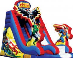 Justice League Dry Slide