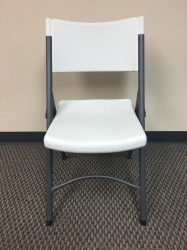 Chair - White Plastic