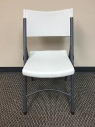 Chair - White Plastic