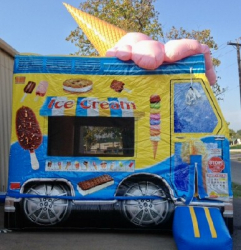 Ice Cream Truck Bouncer