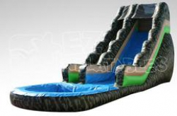 18ft Camo Water Slide
