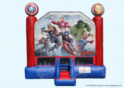 Avengers Large Bounce House