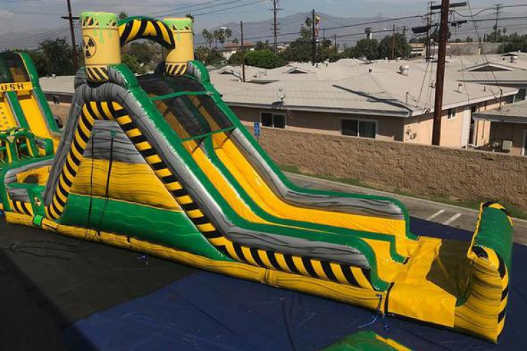 Toxic Mountain Slide