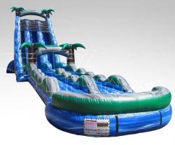 27ft Blue Paradise Water Slide