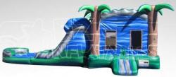 Blue Tropical Combo w/ Pool
