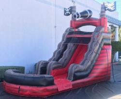 15ft Caribbean Pirate Water Slide