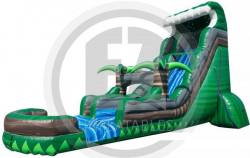 22ft Emerald Crush Water Slide