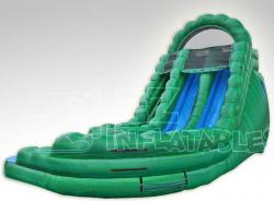 18ft Emerald Falls Curvy Water Slide