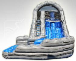 18ft Mt Rushmore Curvy Water Slide