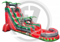 22ft Ruby Crush Water Slide