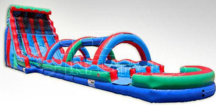 the best water slide rental Muskogee, OK