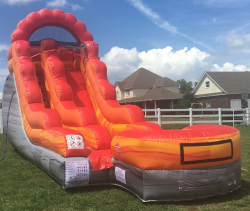 15ft Lava Mountain Water Slide
