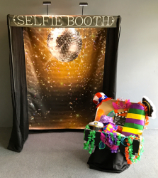 Selfie Booth Disco Theme