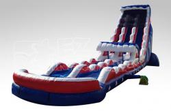 27ft Captain America Water Slide