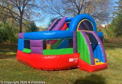Wacky Bounce House Combo Wet/Dry