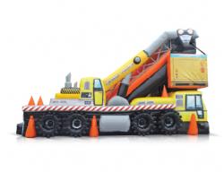 Crane Truck Slide