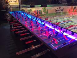 Giant LED Foosball Table