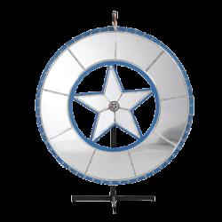Giant Mirrored Prize Wheel