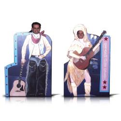 Novelty Photo Boards - Western Set