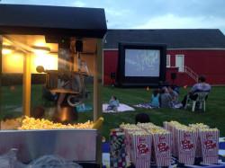 292 1621967152 FunFlicks Popcorn Machine w/100 servings