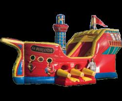 Toddler Buccaneer Slide W/ Bounce