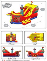 CEC Buccaneer Panel 2 1617907235 Toddler Buccaneer Slide W/ Bounce