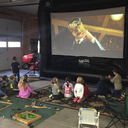 Garage 1617892722 16-ft Inflatable Movie Screen