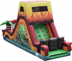Dinosaur Obstacle Slide