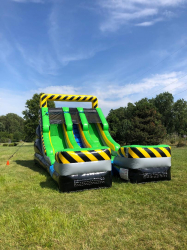 15ft Dual Lane Caution Slide