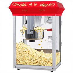 Popcorn machine without inflatable