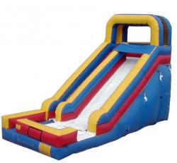 18ft Tri Color Dry Slide