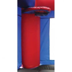 jump n splash castle w landing d916789a 16eb 4451 bbbc 64c2726b9c15 1614186533 17' Castle w/Slip-N-Slide Landing