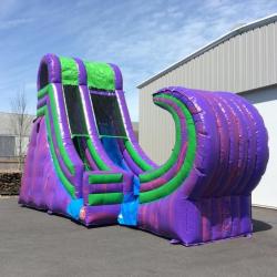 22' Purple Wave Water Slide