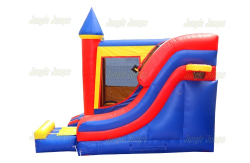 Superheroes Castle Slide - 18' x 17' Outside Slide