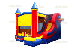 Castle Slide Disney Princess - 18' x 17' (Outside Slide)