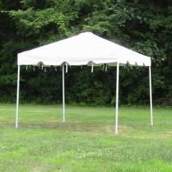 10' x 10' White Frame Tent