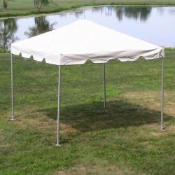 10 x 10 classic frame l 1625077220 - 10' x 10' White Frame Tent