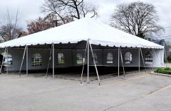 20210409 130218 1619626498 - 40' X 40' Frame Tent White