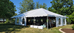 40' x 60' White Frame Tent