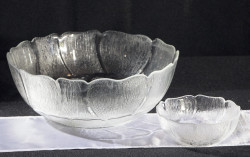 Glass Bowls 1603734551 - Glass Bowl Fleur Small