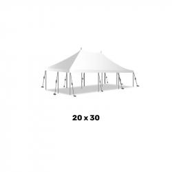 20ft x 30ft Pole Tent