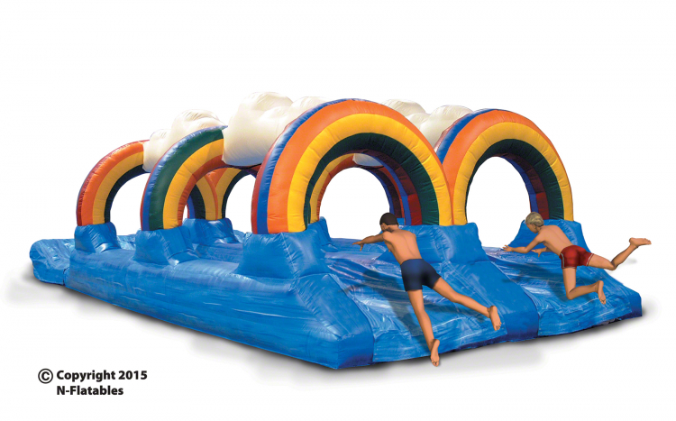 top notch water slide rentals