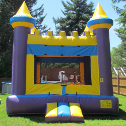 Yellow Castle Bounce House (Large)