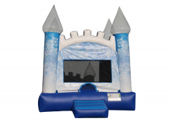 Ice Castle Bounce House (Large)