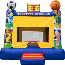 Sports Arena Bounce House (Medium)