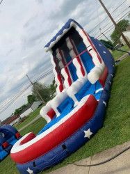 22ft Stars and Stripes with Pool